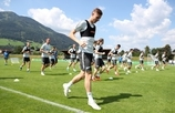 "The third"" Gazprom ""- training camp in Austria: July 19, morning training"