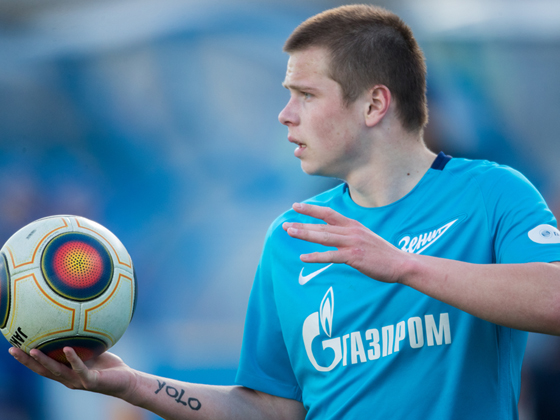 Danil Krugovoy returns to Zenit