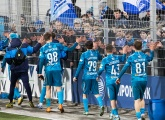 Zenit U19s v Ural U19s at the Smena Stadium