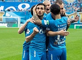 Highlights of Zenit v CSKA Moscow from the RPL