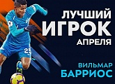 Wilmar Barrios is the G-Drive Player of the Month for April