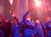 Photo report of the Champions arrival back in St. Petersburg