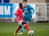 Zenit U19s suffer a heavy defeat to Benfica in the UEFA Youth League