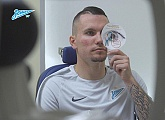 Zenit-TV at the player's pre-season medicals
