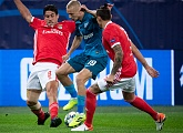 Zenit-TV: Highlights of Zenit v Benfica in the UEFA Champions League