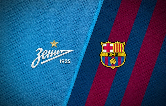 Zenit-2 face Barcelona B today at the Gazprom Academy