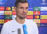 Zenit-TV interview Dejan Lovren after the defeat to Club Brugge