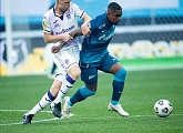 Match highlights of Zenit v Ufa for viewers outside of Russia